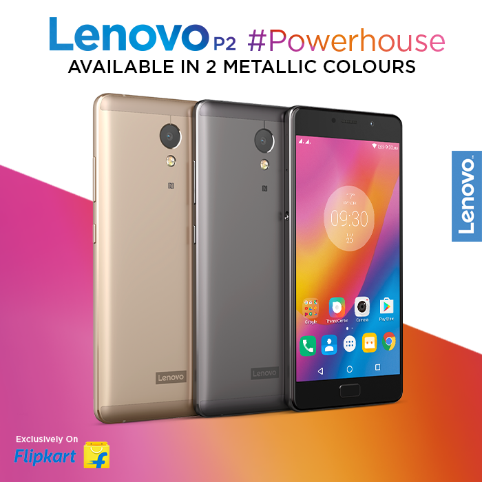 Designed with rounded corners, an ergonomic curved back, and a full-metal unibody, the Lenovo P2 always stands out! Choose from finishes in Champagne Gold or Graphite Gray, exclusively available on Flipkart, starting at Rs.13,499*. Buy the #Powerhouse now - https://www.tomtop.com/brands-lenovo-576/?aid=sqttseo