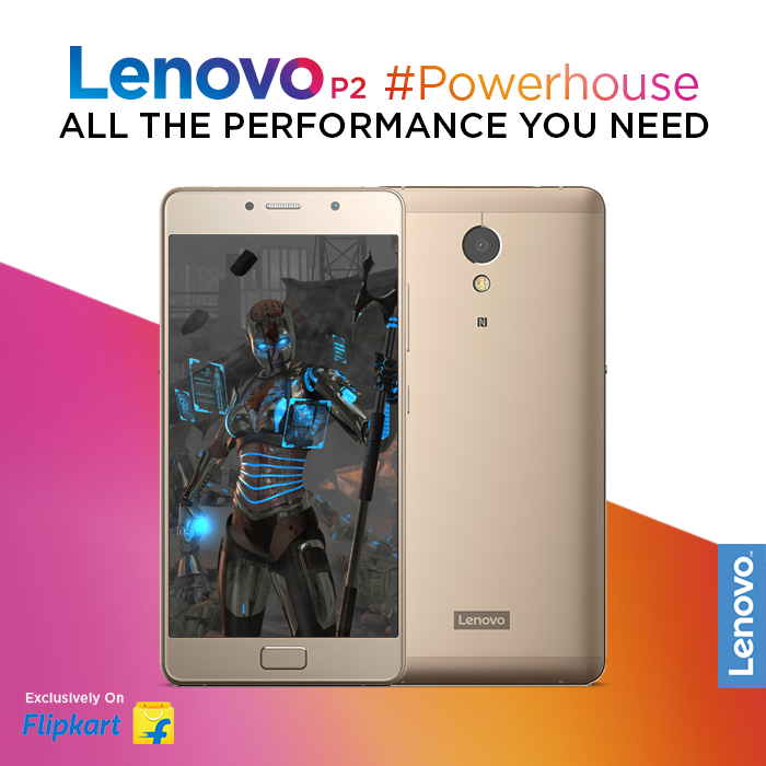 Play games, watch movies, and multitask without missing a beat. The Lenovo P2's powerful 2.0GHz Qualcomm Snapdragon 625 true octa-processor can handle everything you throw at it! The #Powerhouse is exclusively available on Flipkart, starting at Rs.13,499*. Buy Now - https://www.tomtop.com/brands-lenovo-576/?aid=sqttseo