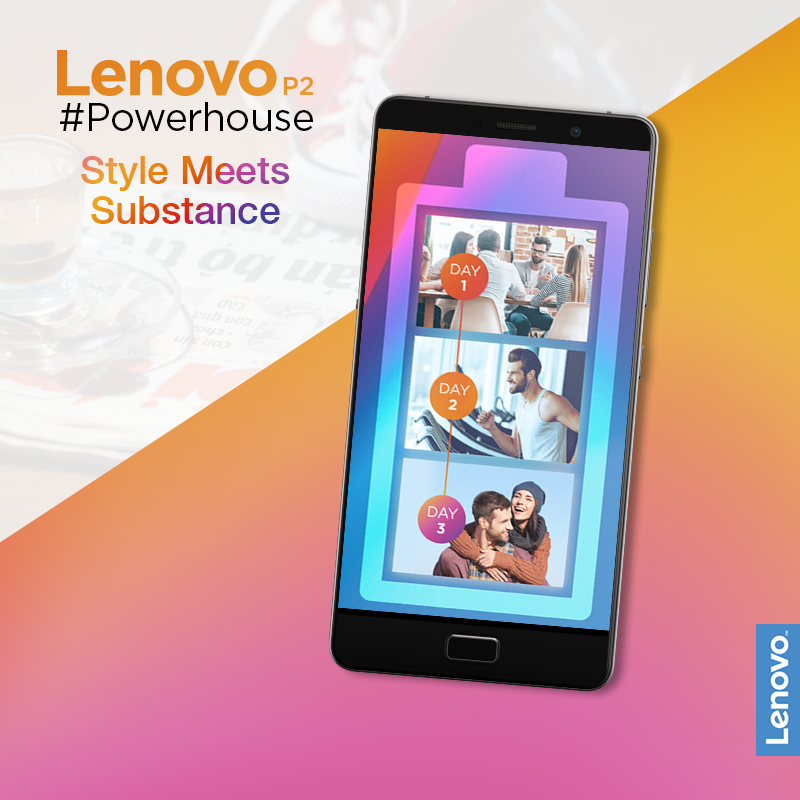 With the 5100 mAh battery perfectly packed in the full metal unibody design, The Lenovo P2 is easy to pick up but hard to put down.