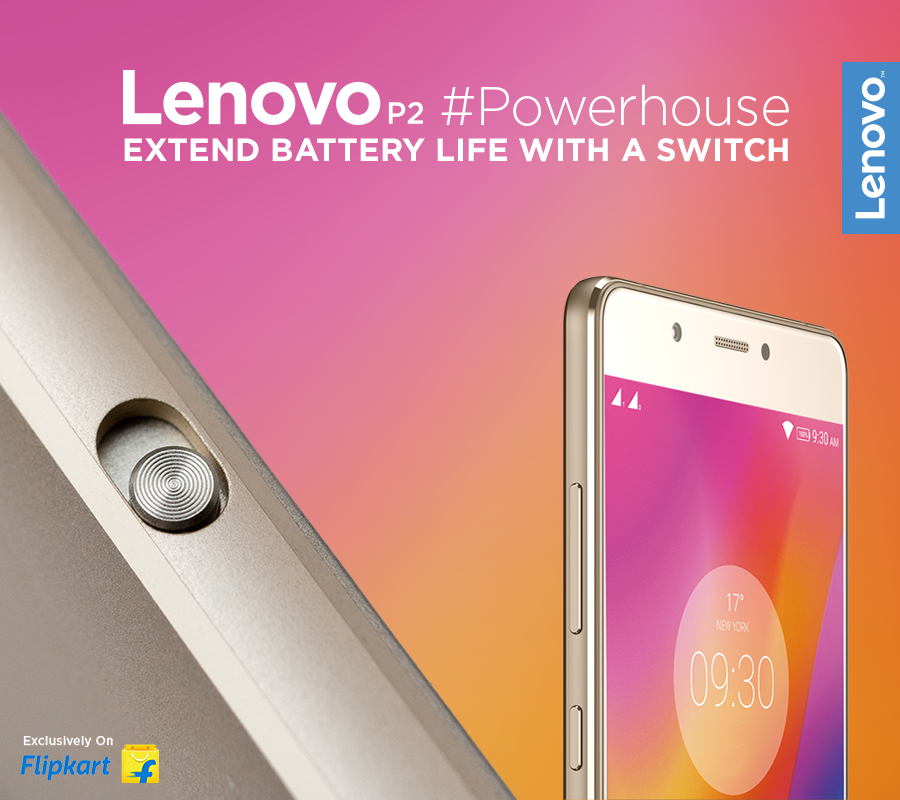 The Lenovo P2 allows you to power down instantly to save battery life! All it takes is a simple touch to slide the exterior One-key power saver button. The #Powerhouse is exclusively available on Flipkart, starting at Rs.13,499*. Buy Now - https://www.tomtop.com/brands-lenovo-576/?aid=sqttseo