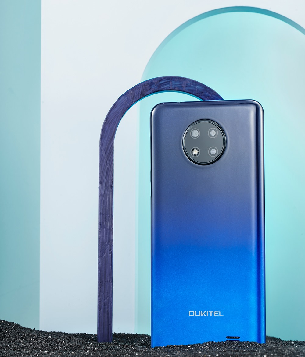 Look at this beautiful color of #OukitelC19😍