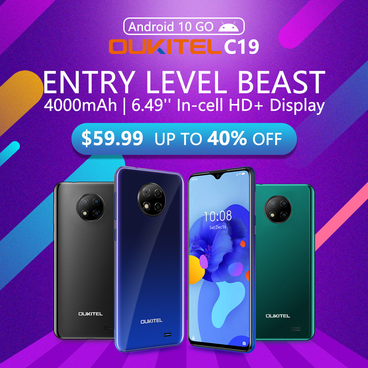 Last chance to grab your #OUKITELC19