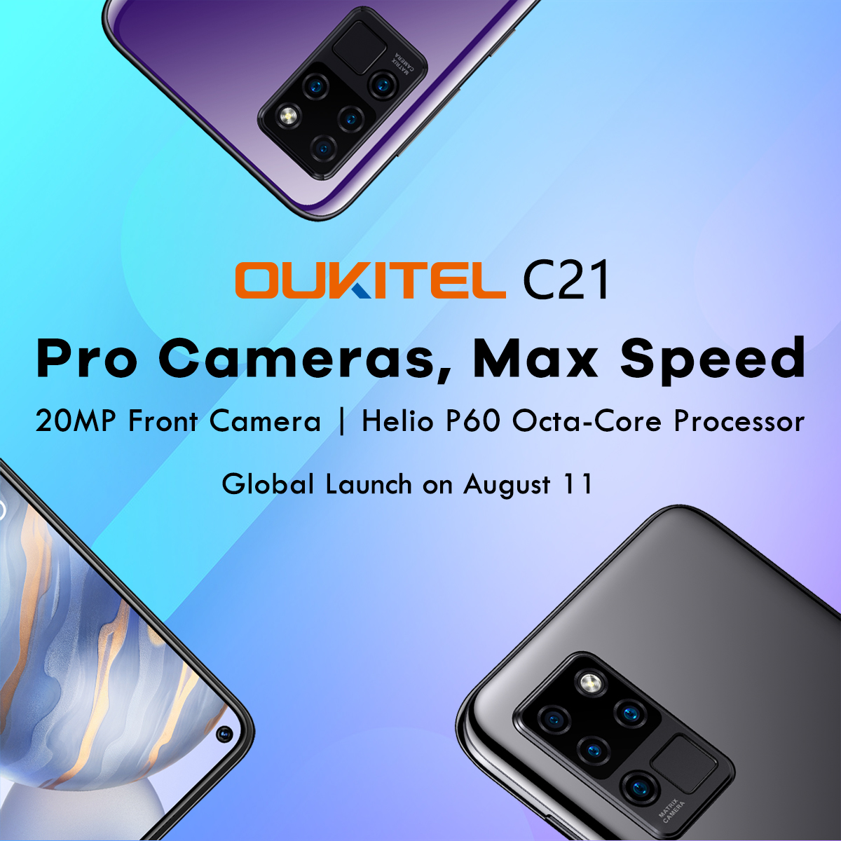 Introducing the camera and performance beast #OukitelC21 📣