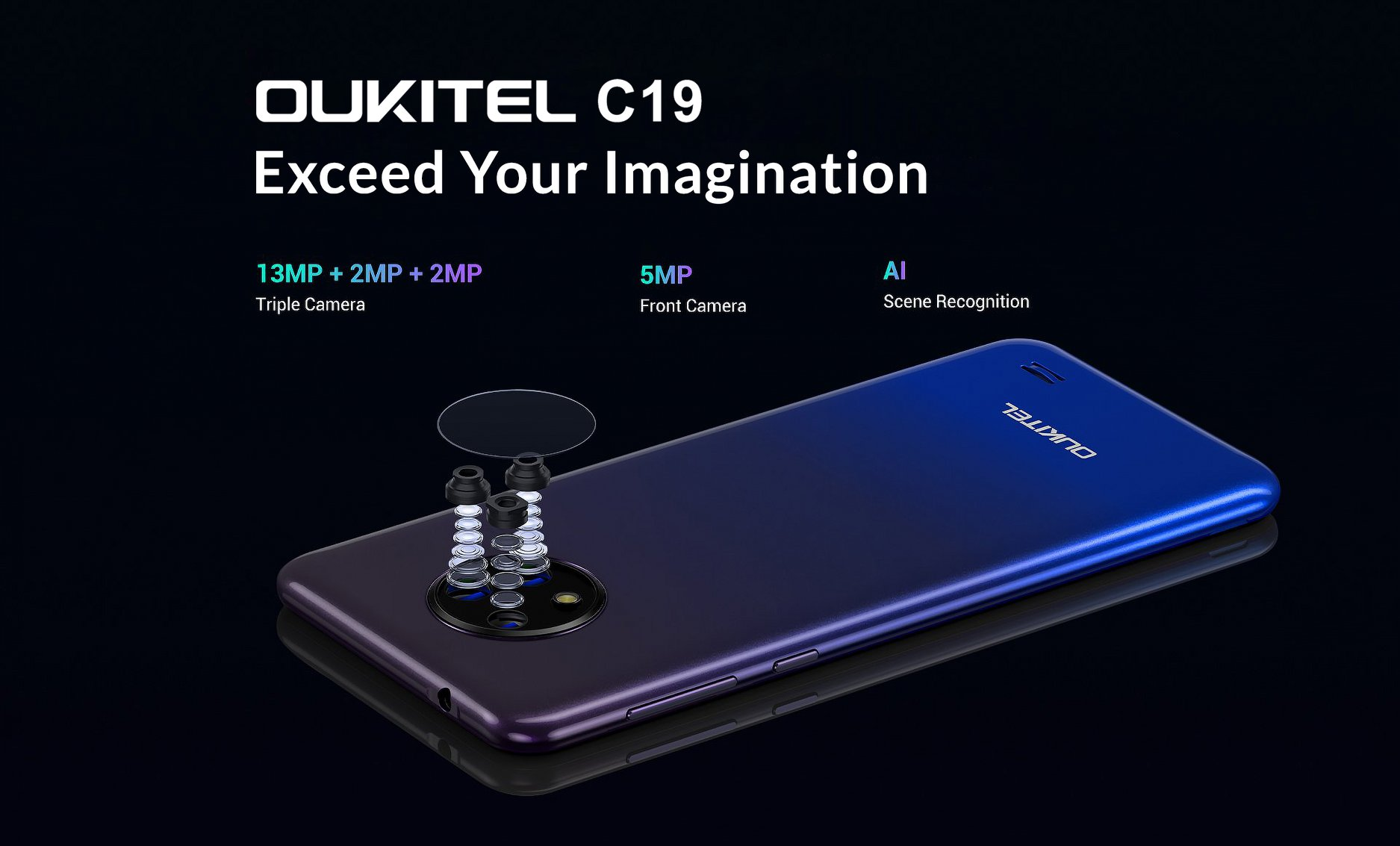 Capture brilliant photos with Triple rear cameras of #OUKITEL #C19 equipped with the Sony IMX214 sensor.😍 Global Sale of #OukitelC19 will start from July 13.