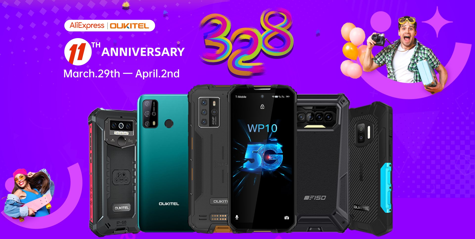 Looking for best deals🤔 Than head to our official store and avail the best ever deals on #Oukitel phones🎉🎉