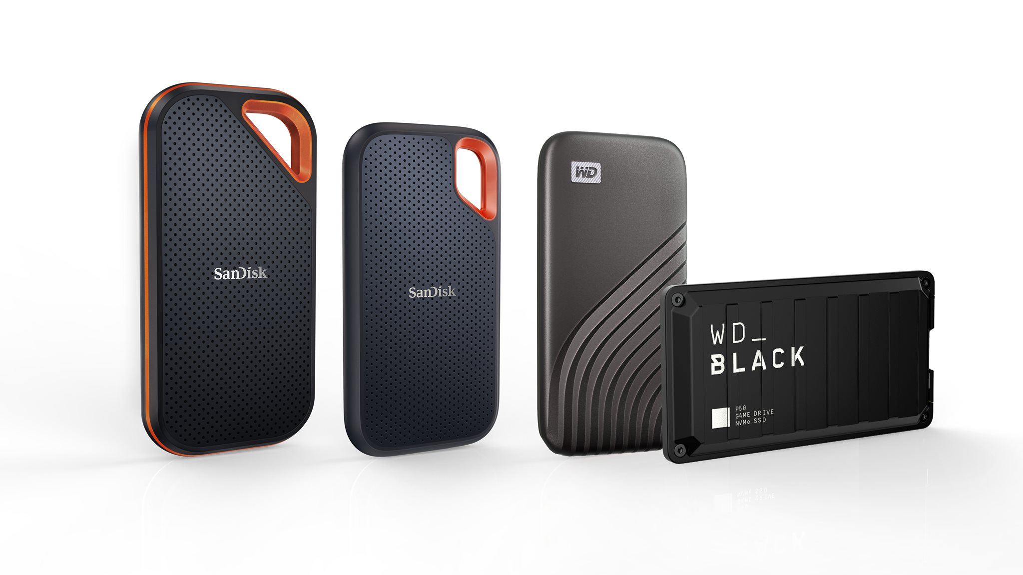Announced today at #CES2021! Our #SanDisk Extreme Portable and Pro Portable SSDs now come in 4TB capacity! Learn more: 4TB SanDisk Extreme Pro Portable SSD: www.tomtop.com