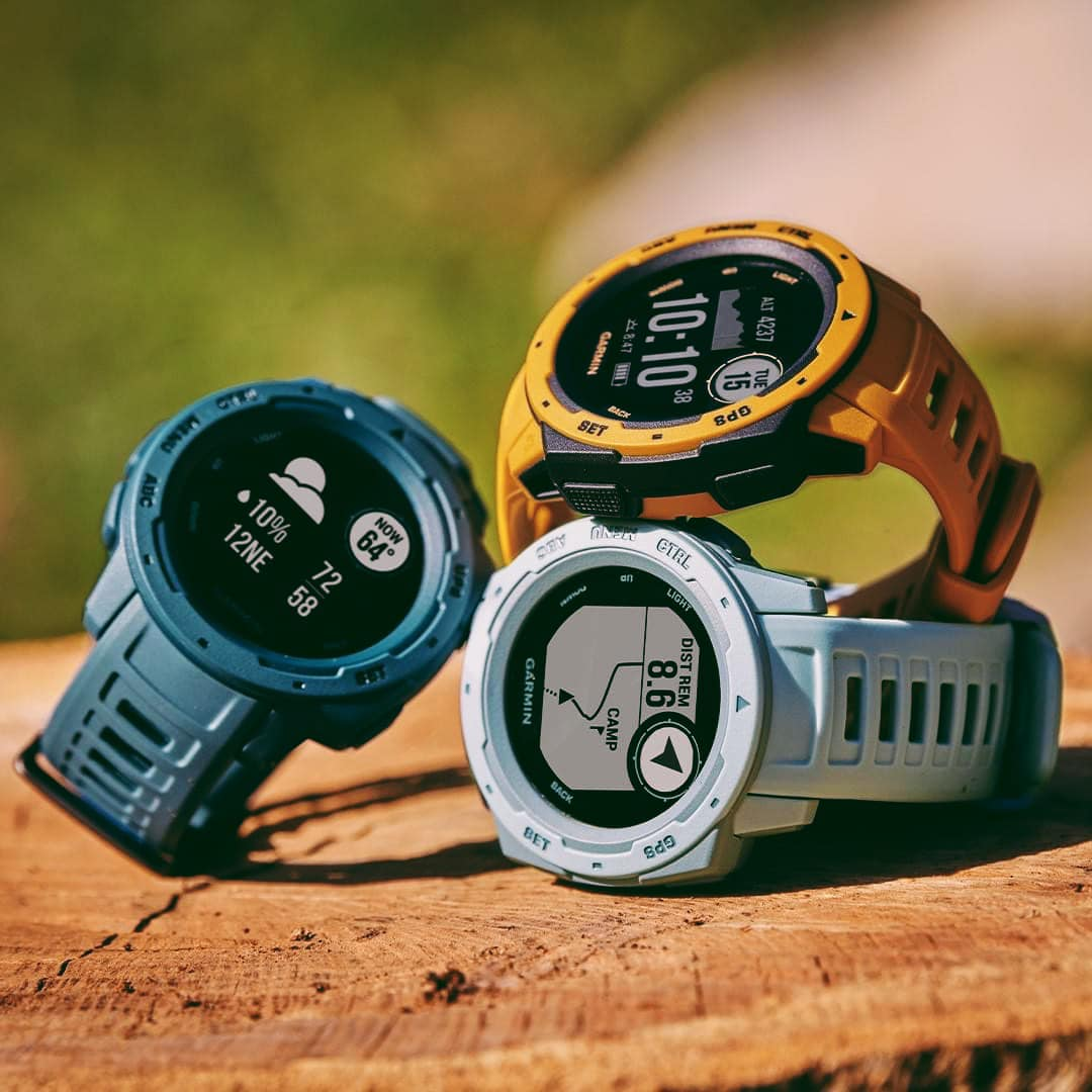 Instinct is what happens when a GPS smartwatch grows a beard, hits the gym and gets really into the outdoors. What's your favorite #Instinct color? Tell us in the comments.  Explore more here: www.tomtop.com Get yours now and enjoy Garmin Protect 2-Year Extended Warranty. ... 🛒Garmin PH Brand Stores: www.tomtop.com