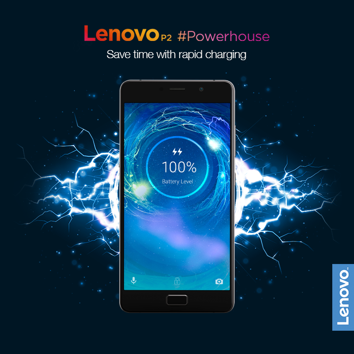 Life is too short to keep running out of power! The #Powerhouse Lenovo P2 steps in with its 5100 mAh battery and an in-box 24W rapid charger, which gives you 10 hours of battery life in just 15 minutes*. Get set for a power-packed life. Buy now, exclusively on @Flipkart, starting Rs.13,499: www.tomtop.com
