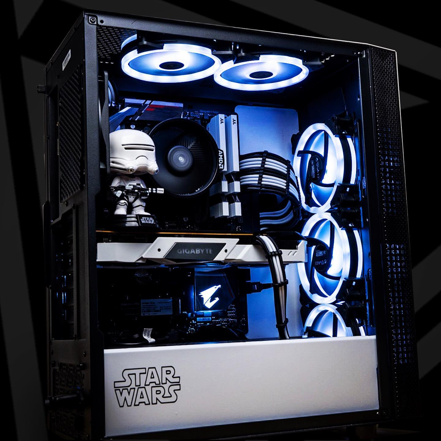 """The Death Star plans are not in the main computer"" Get that Star Wars Vibe into your main rig! ~~~~~~~~~~~~~~~~~..."