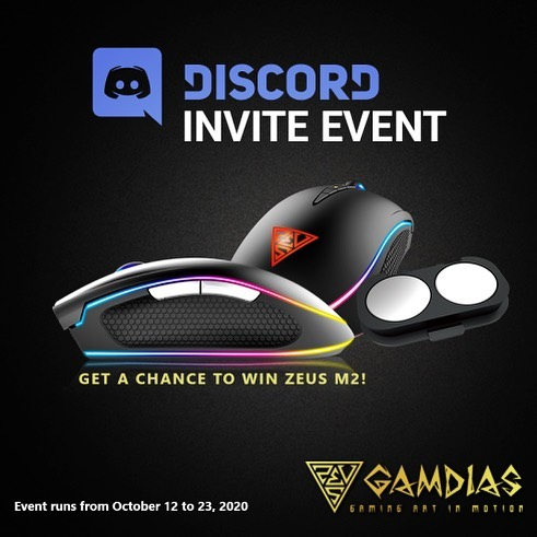 ATTENTION GAMING GODS‼️ Discord Event is up for October!