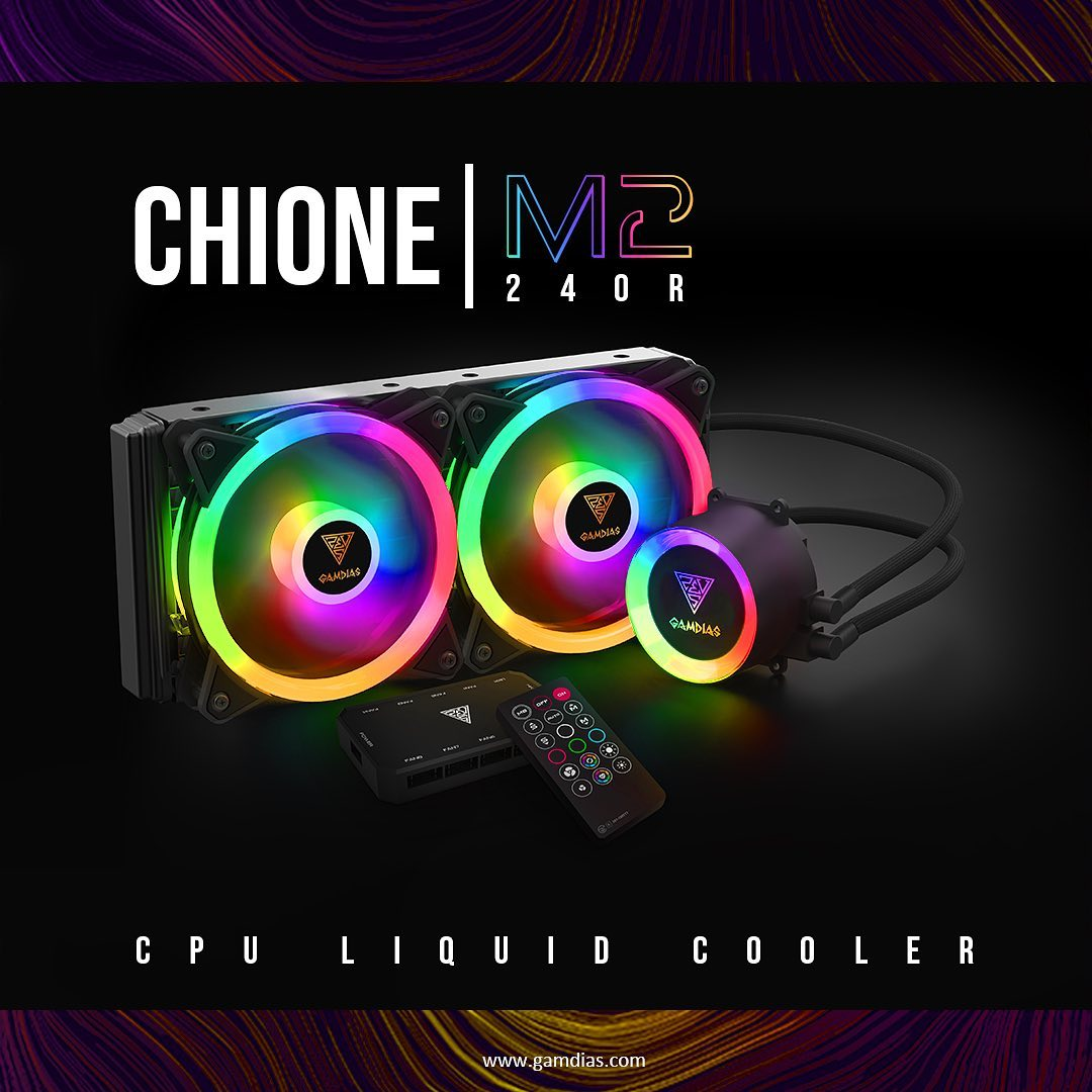 Pre-packaged solution that you bolt in 20 minutes! All-In-One Liquid Cooler is more than Efficient for cooling your 🔥 CPU! CHIONE|M2-240R AIO CPU Liquid Cooler demolishes heat from your CPU. Creating perfect ❄️ environment for your monster chip!...